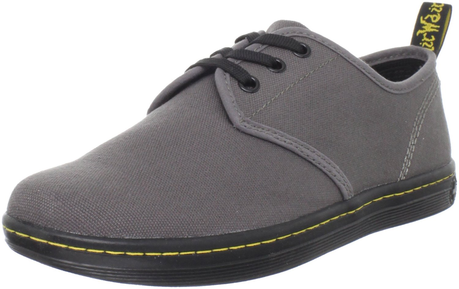 Dr. Martens Dr Martens Womens Soho Shoe in Gray (dark grey canvas