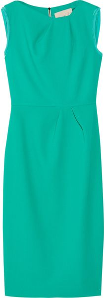 Roksanda Ilincic Delphine Woolcrepe Shift Dress - Lyst