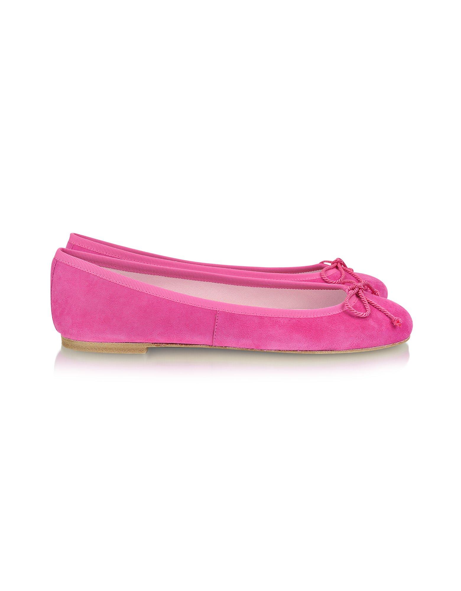 Fuchsia Shoes Flats