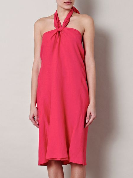 Weekend By Maxmara Girone Dress in Red (cherry)