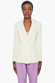 3.1 Phillip Lim Pale Yellow Kite Collar Blazer - Lyst