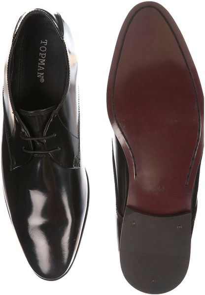 topman sicily point formal shoes in black for lyst
