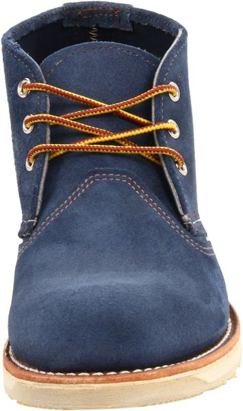 Red Wing Work Chukka Boots In Blue For Men Lyst