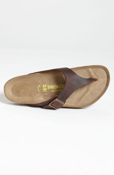 birkenstock men 39 s 39 como 39 flip flop in brown for men. Black Bedroom Furniture Sets. Home Design Ideas