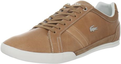 Lacoste Lamarck 3 Oxford in Brown for Men (light brown)