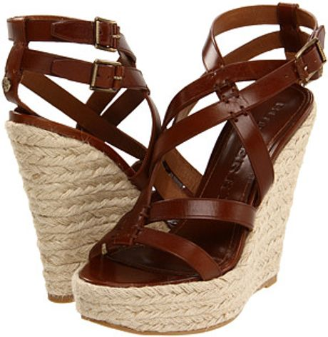 Burberry Bridle Winchester Espadrille in Brown (d) - Lyst