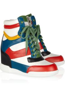 Marc By Marc Jacobs Kisha Colorblock Wedge Sneakers - Lyst
