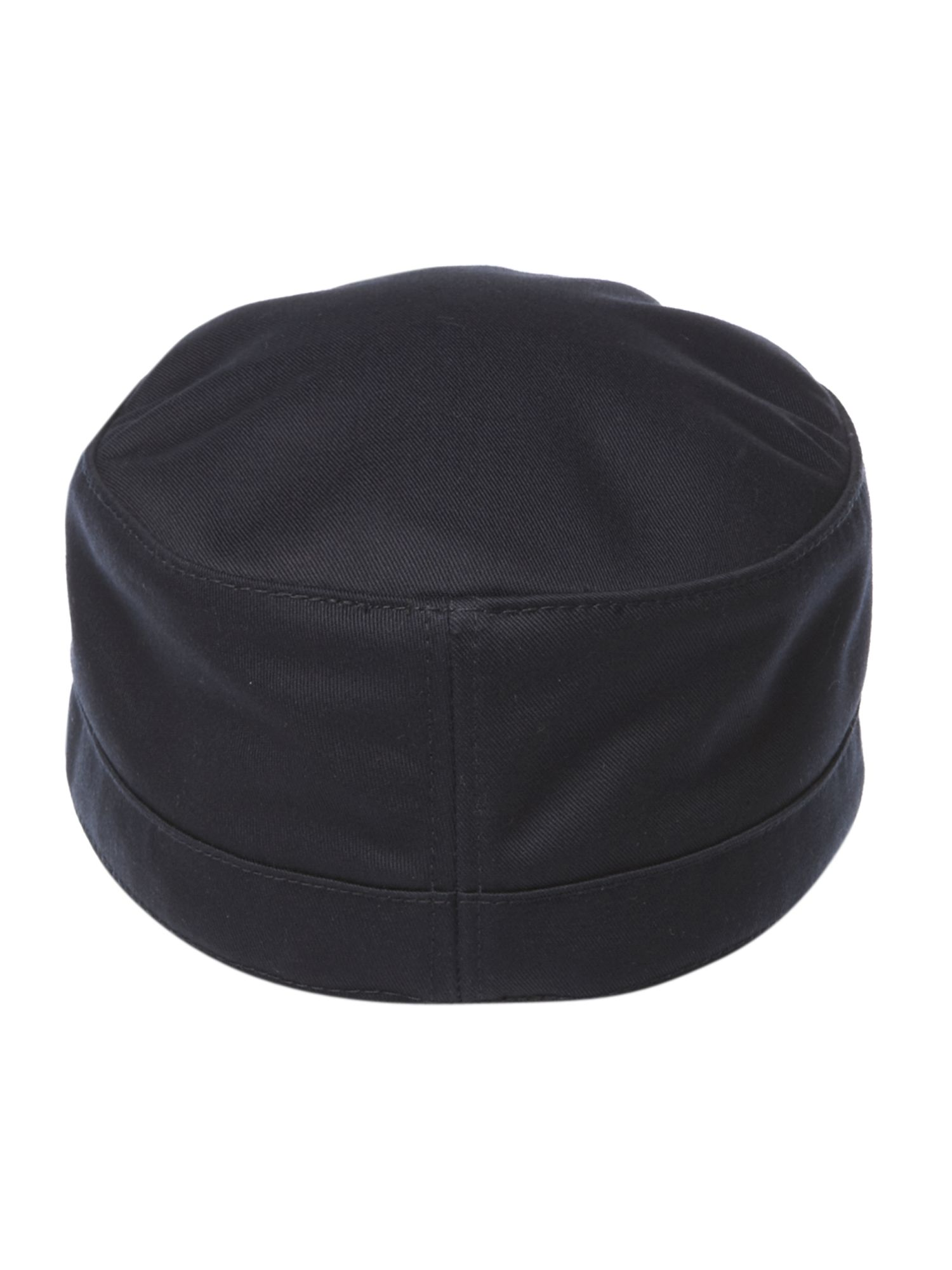 fred perry military cap in blue for men lyst. Black Bedroom Furniture Sets. Home Design Ideas