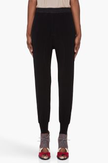 Neil Barrett Black Tapered Track Pants - Lyst