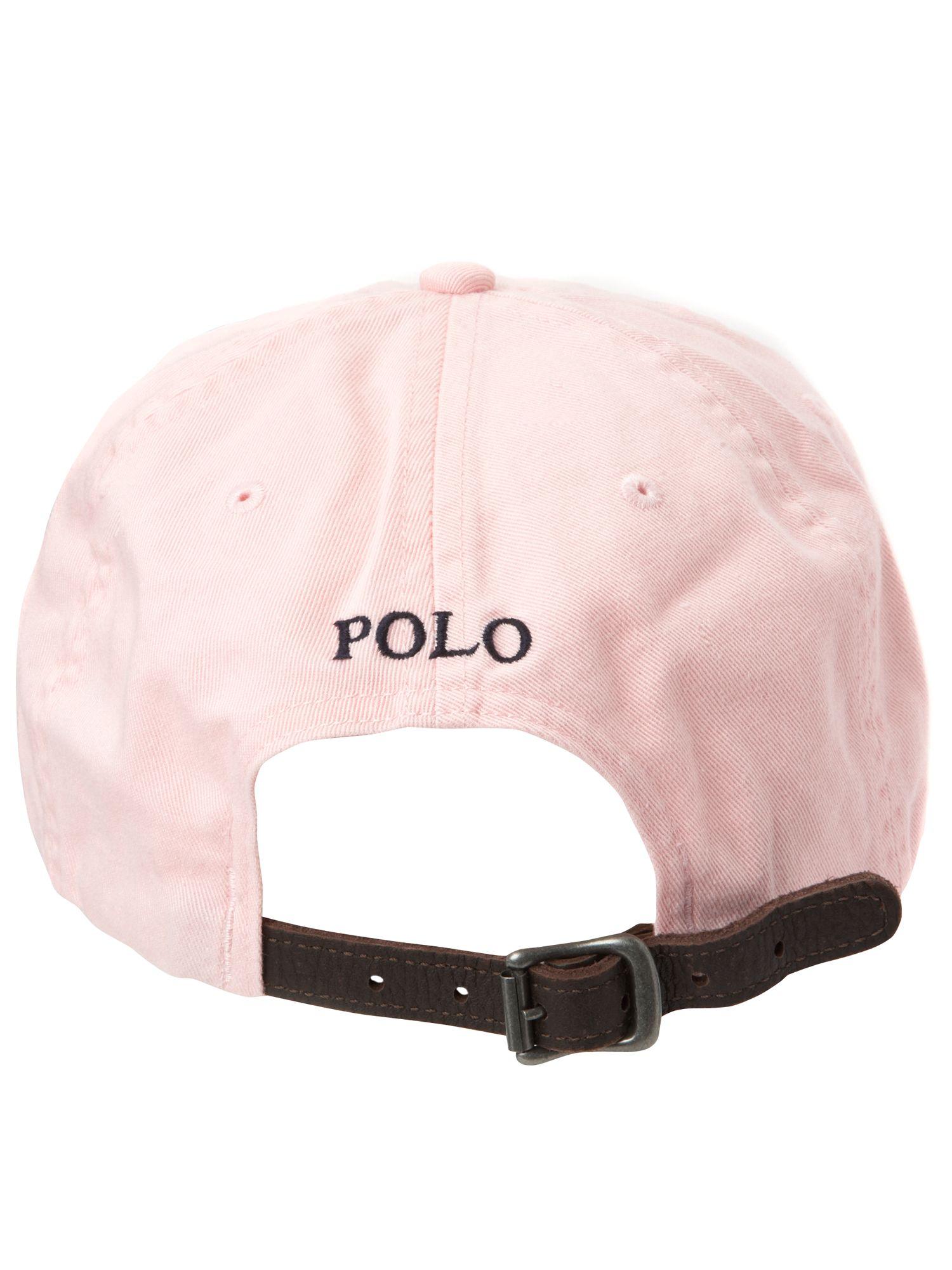 polo ralph lauren logo cap in pink for men lyst. Black Bedroom Furniture Sets. Home Design Ideas