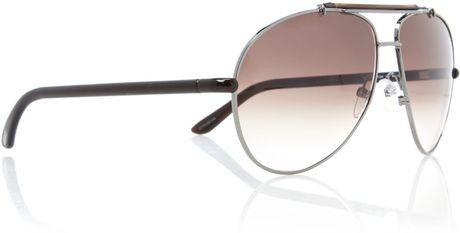 tom ford mens bradley sunglasses in gold for men brown lyst. Cars Review. Best American Auto & Cars Review