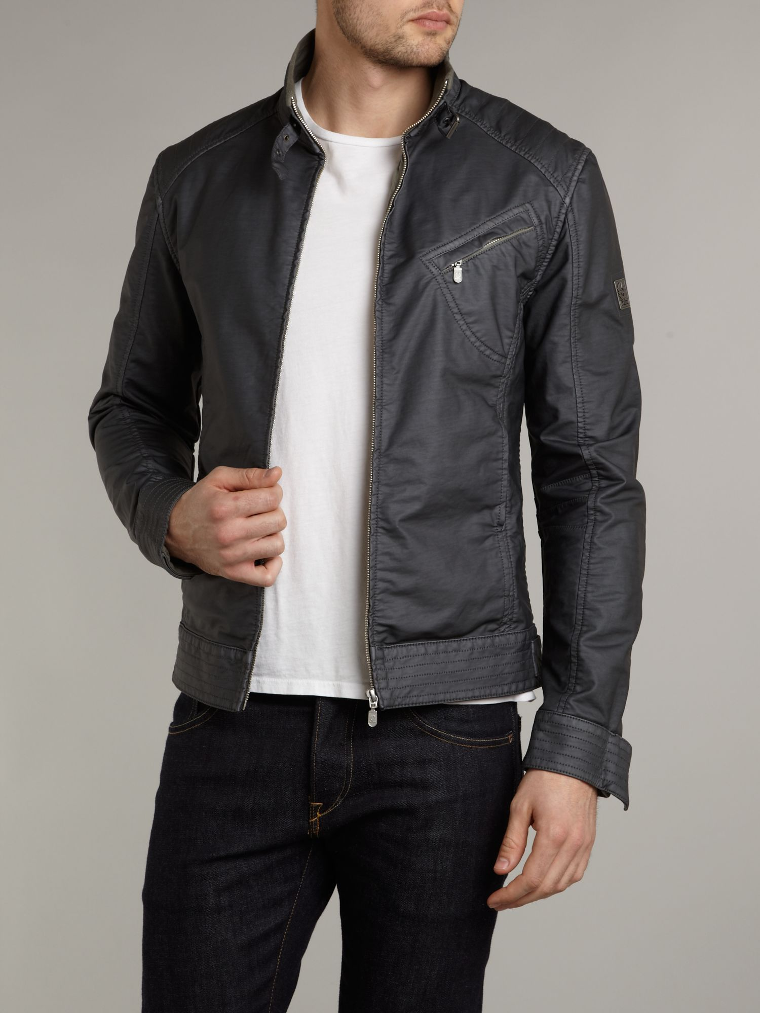 Belstaff H Racer Jacket Black