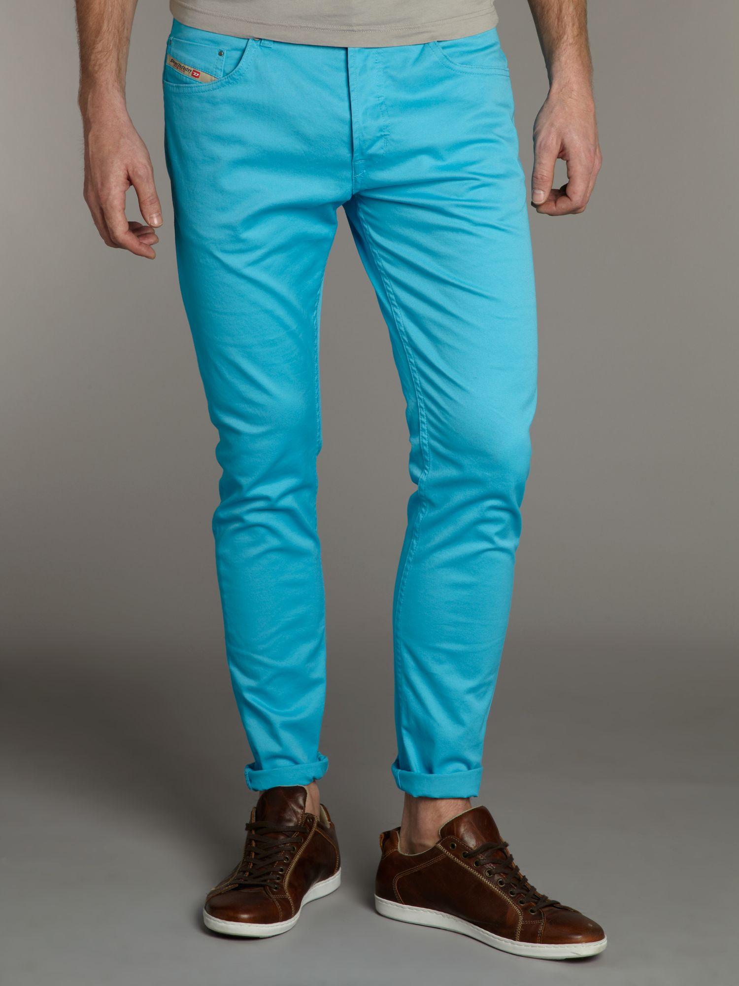 Diesel Skinny Tepphar Jeans in Blue for Men | Lyst
