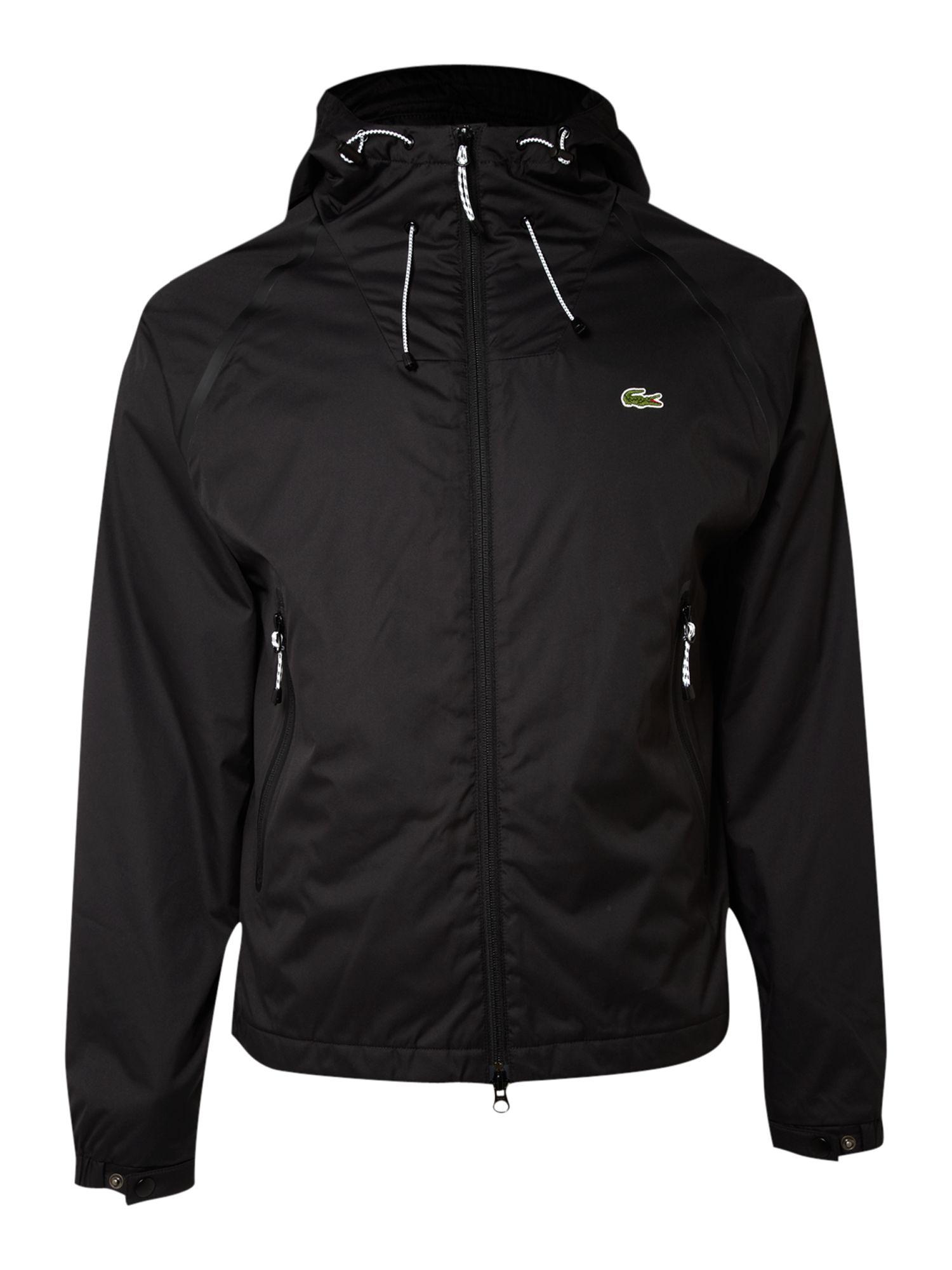 Lacoste Live Blouson Jacket In Black For Men Lyst