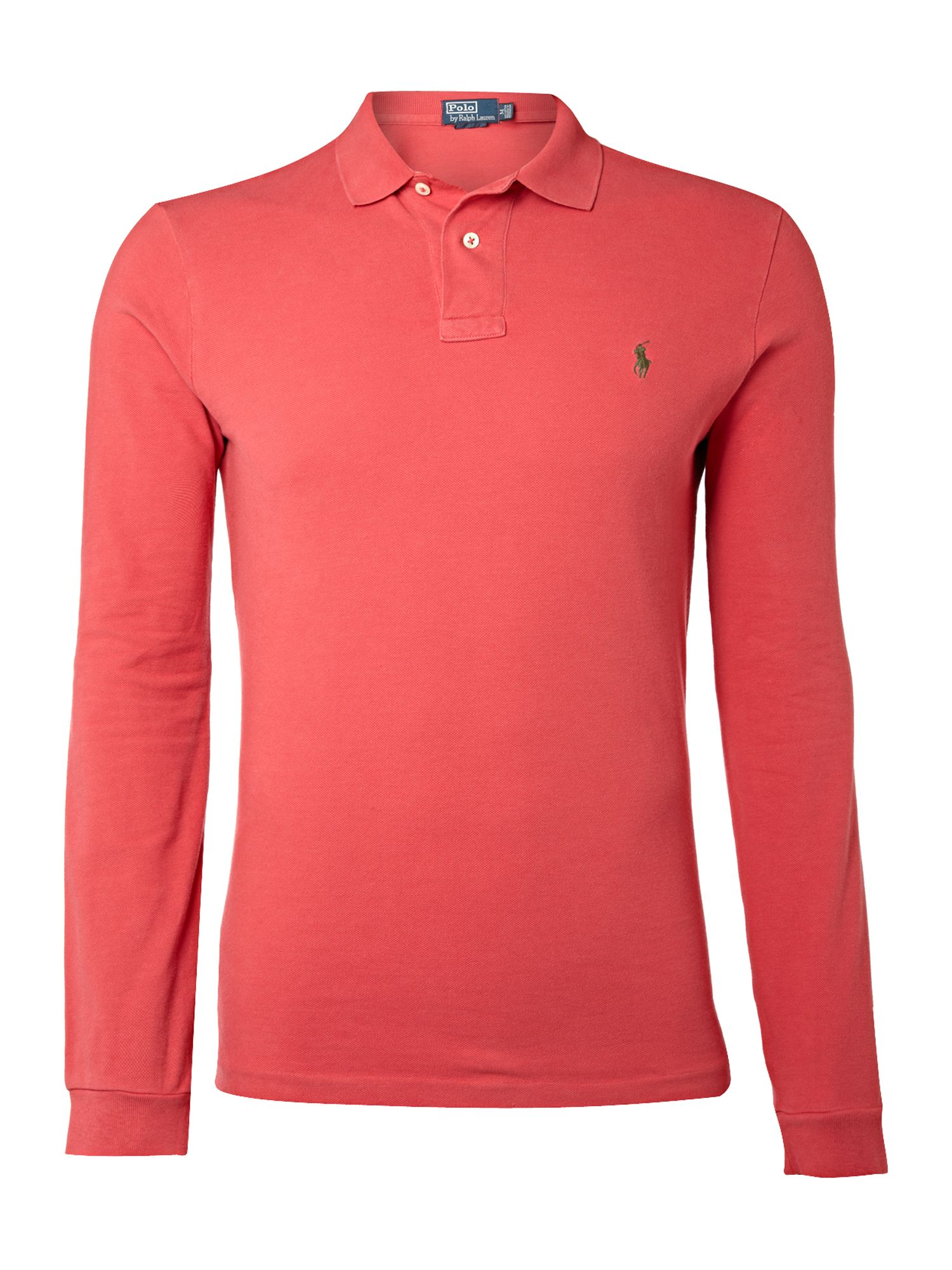 Polo ralph lauren weathered mesh long sleeve custom fit for Custom long sleeve shirts cheap
