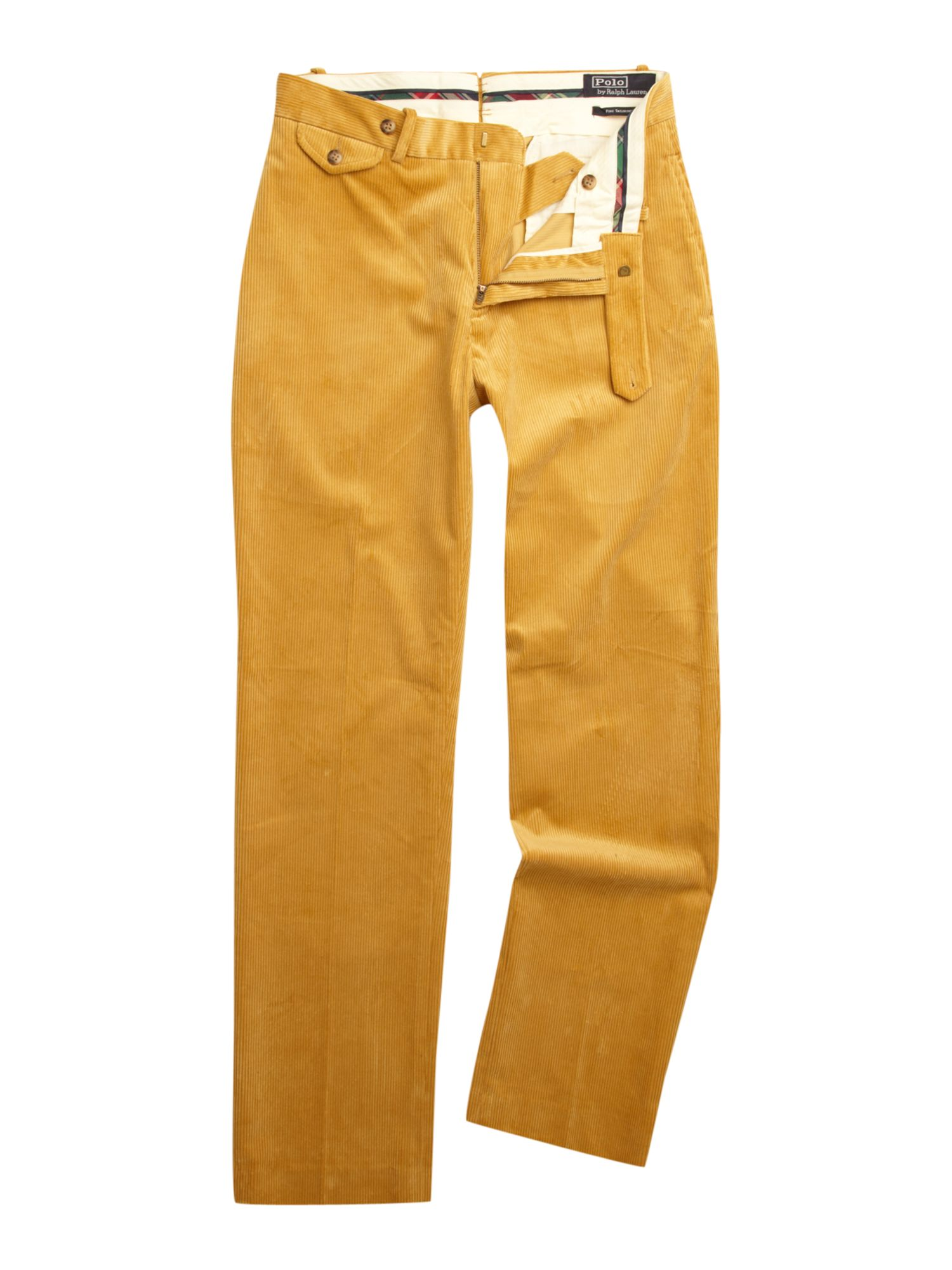 Polo ralph lauren Suffield Stretch Corduroy Trousers in Yellow for ...