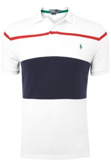 Polo Ralph Lauren Custom Fitted Striped Polo Shirt - Lyst