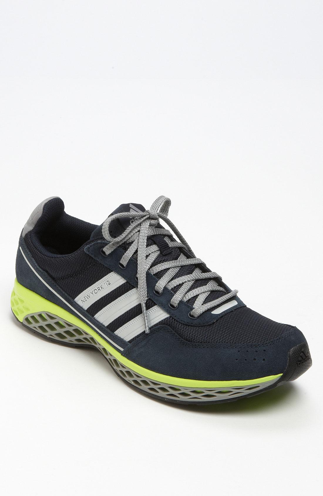 Adidas New York 12 Running Shoe in Blue for Men (dark navy