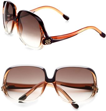 Balenciaga Square Oversized Sunglasses - Lyst