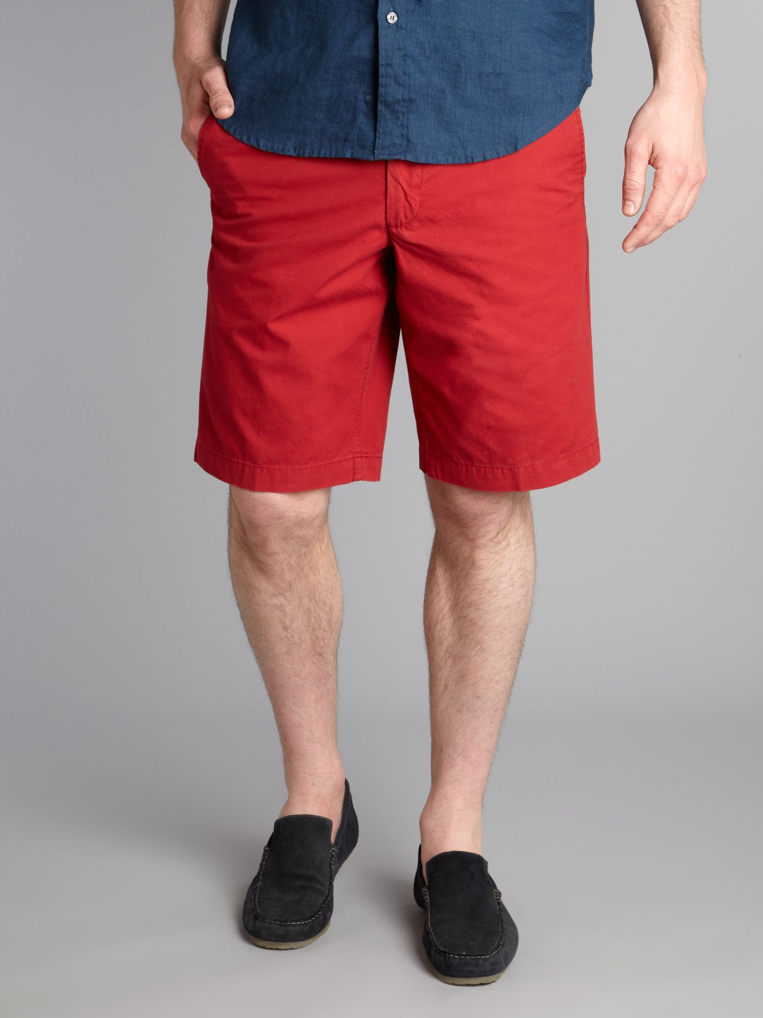 Dockers Chino Shorts in Red for Men | Lyst