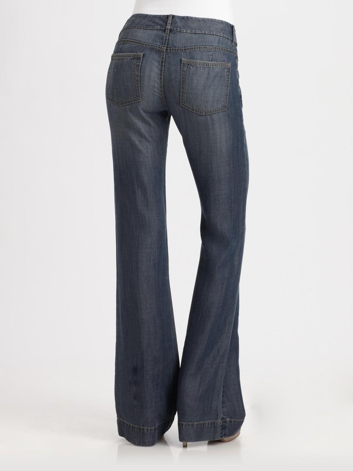 Cheap Sale Discounts DENIM - Denim trousers Elie Tahari Comfortable Online Clearance Many Kinds Of Offer Sale Nicekicks iWGlu8vK