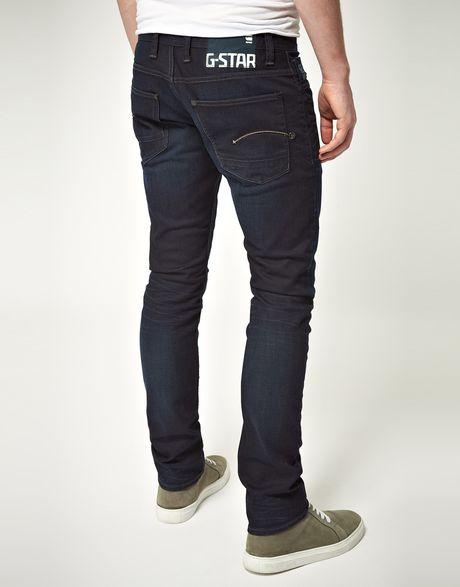 italian favourite brands blue g star defend super slim jeans product 2. Black Bedroom Furniture Sets. Home Design Ideas