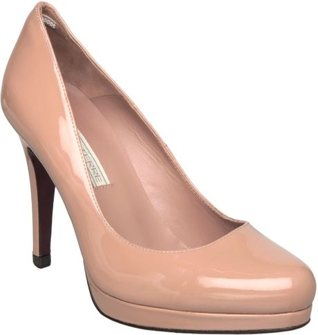 Pied A Terre Arlie Platform Court Shoes In Beige Nude Lyst