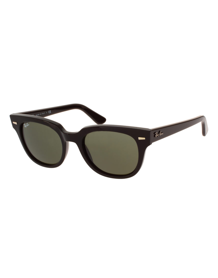 ray ban rayban wayfarer sunglasses in black for men lyst. Black Bedroom Furniture Sets. Home Design Ideas