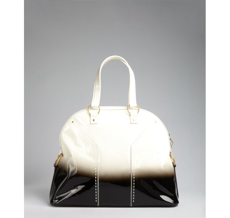 how to spot a fake ysl bag - yves saint laurent patent leather min muse tote, ysl cabas chyc medium