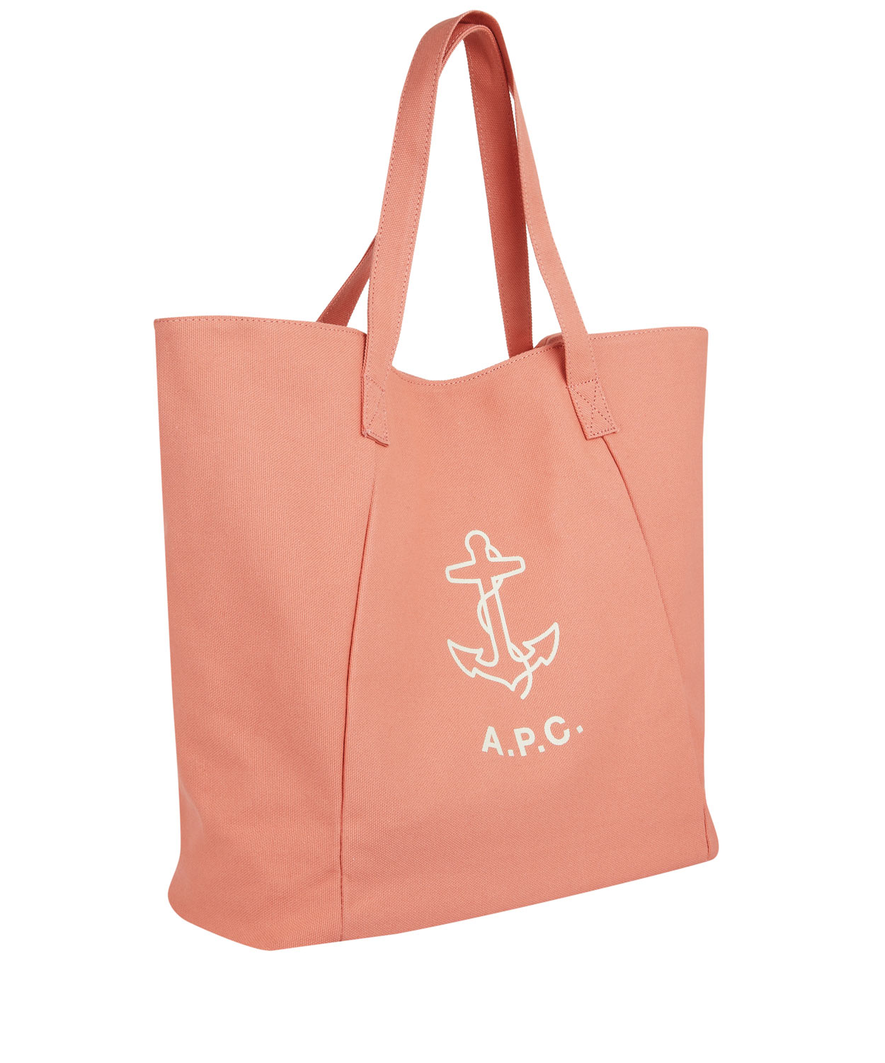 A.p.c. Pink Anchor Beach Bag in Pink | Lyst