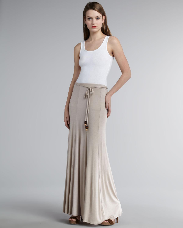 Ella moss Girls Best Friend Maxi Skirt in Natural | Lyst