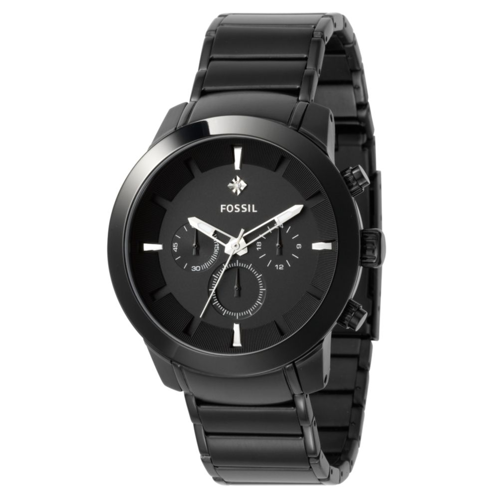 Fossil Diamond Watch Black