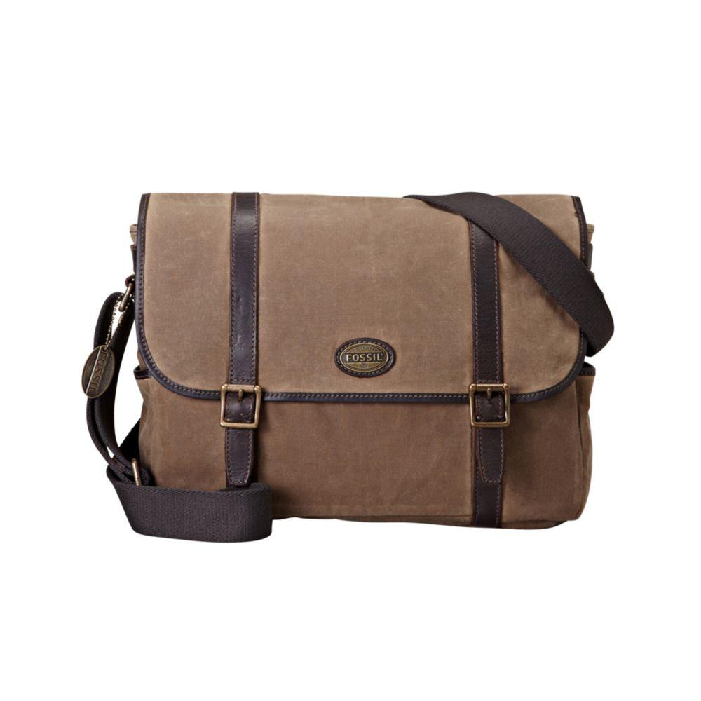 b20cf98525 Waxed Canvas Messenger Backpack- Fenix Toulouse Handball