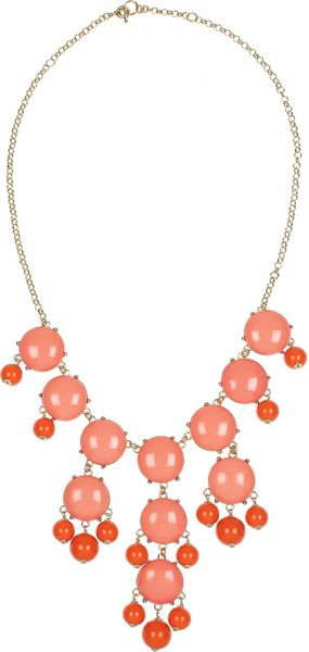 J.crew Bubble 18karat Goldplated Resin Necklace in Gold