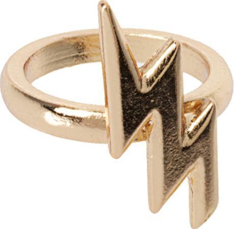 Asos Gold Ring Filigree