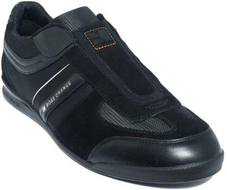 Hugo Boss Orange Shoes Men Hugo Boss Shoes Men Sneakers