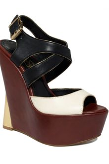 Jessica Simpson Zeppa Wedge Sandals - Lyst