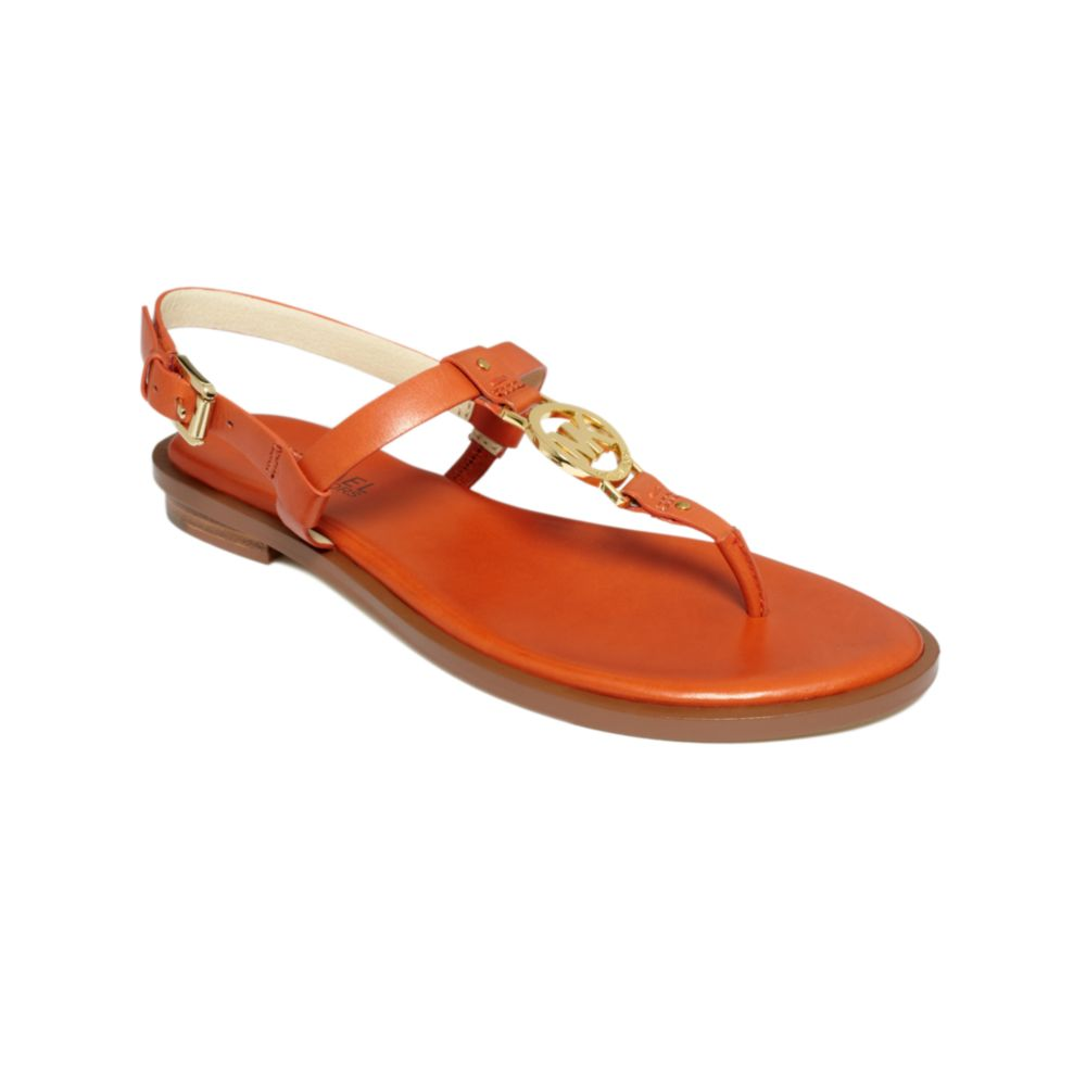 Burnt Orange Flat Shoes