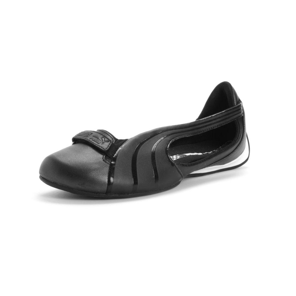 Lyst - PUMA Winning Diva Ballerina Flats in Black 278223bf0