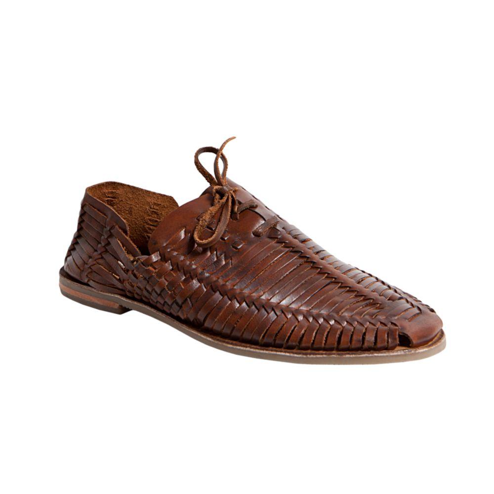 Lyst Steve Madden Reston Huarache Sandals In Brown For Men