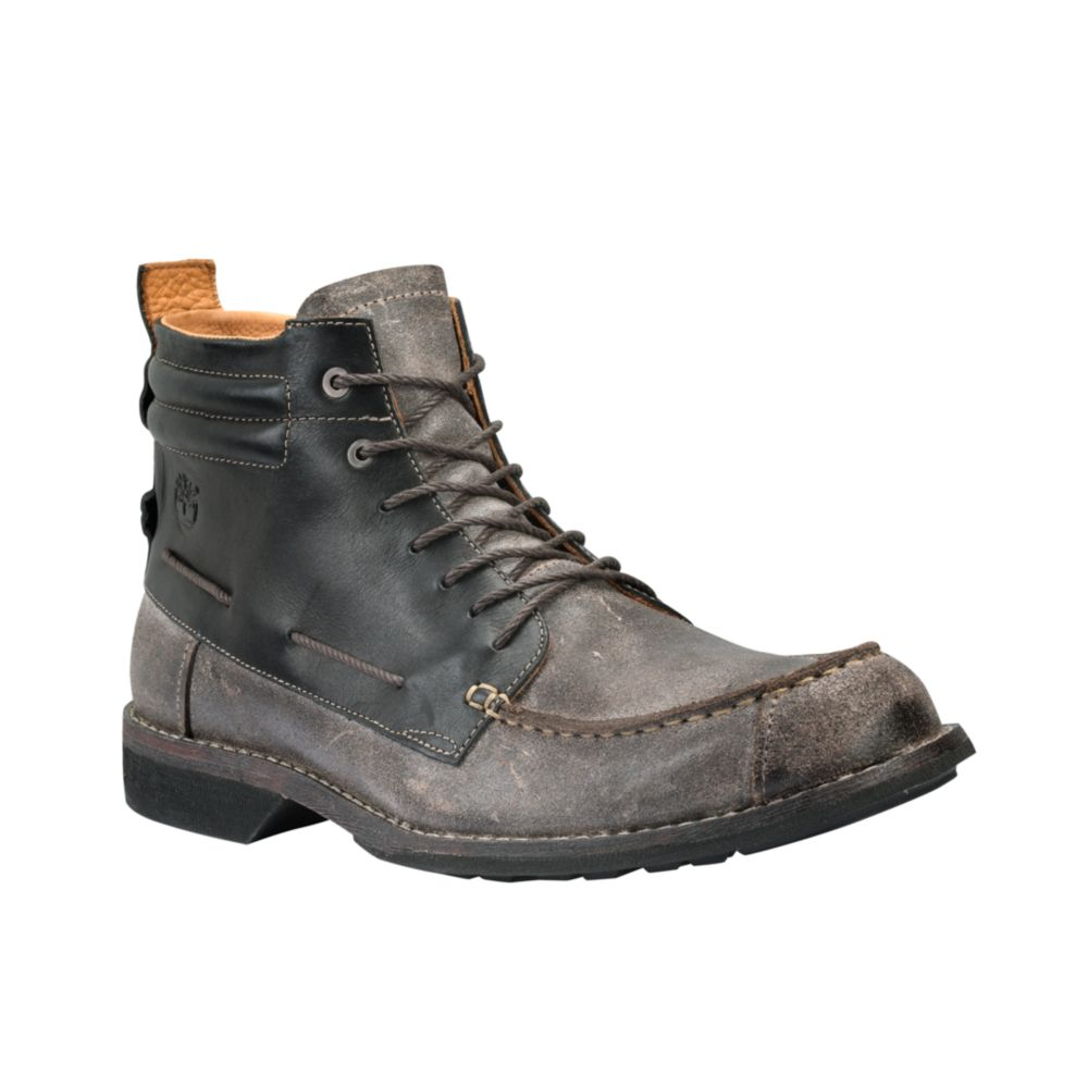 Timberland Earthkeepers City Moc Toe Chukka Boots in Black for Men ...