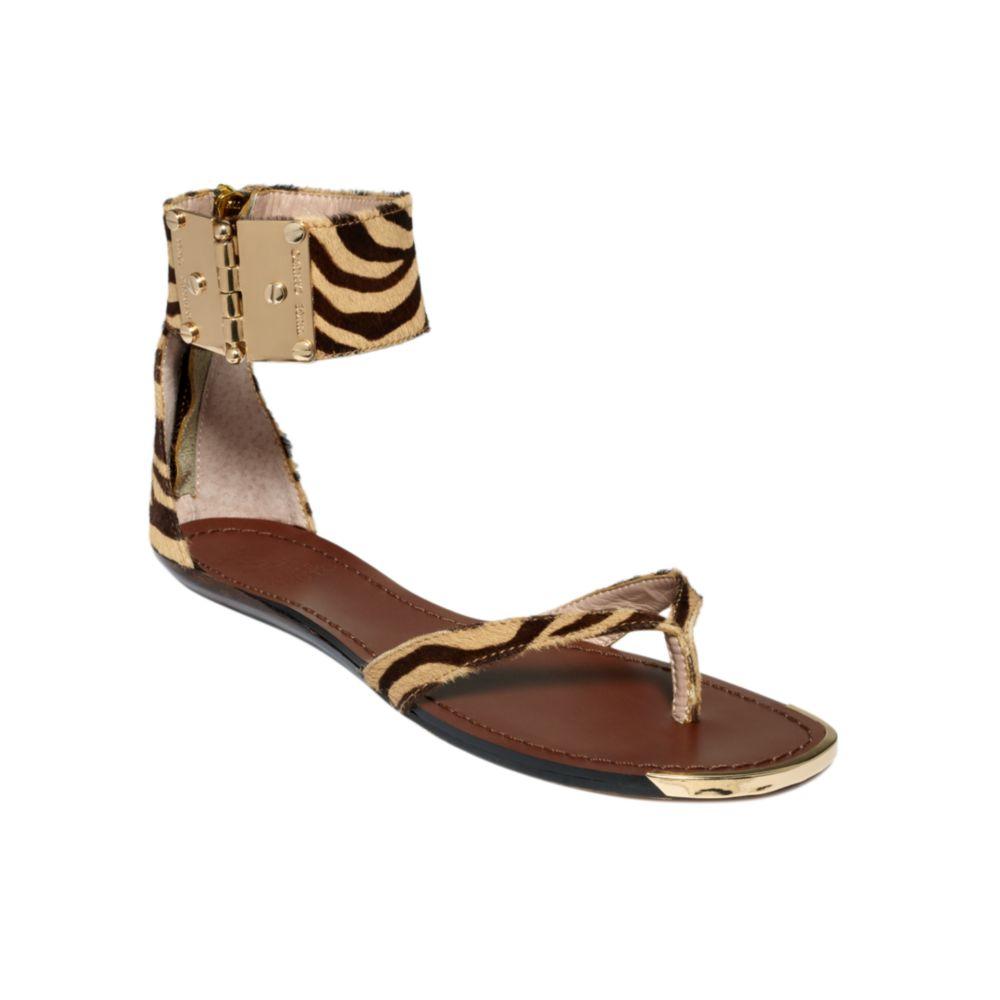 Vince Camuto Kastern Flat Sandals Lyst