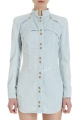 Balmain Shirt Dress