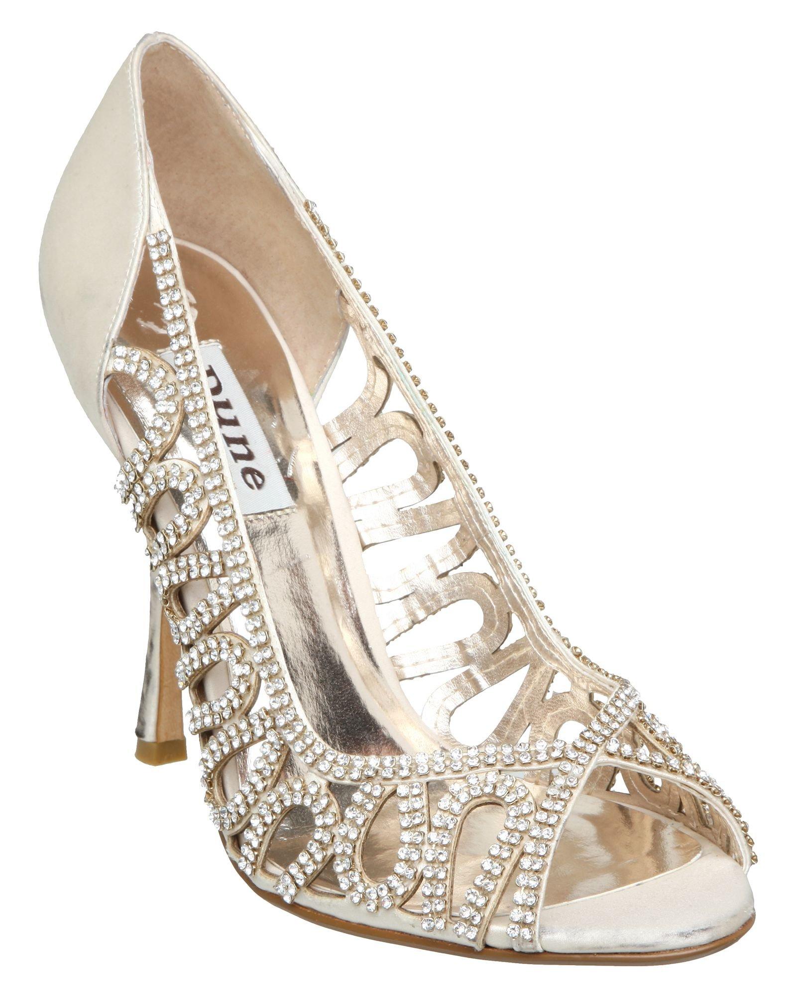 Diamante Wedding Shoes Dune
