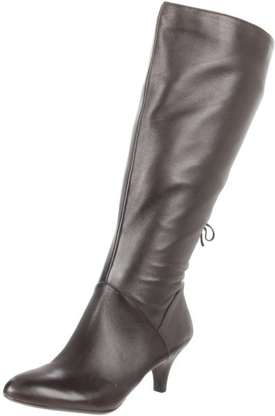 Naturalizer Dinka Boots in Brown (oxford brown) - Lyst