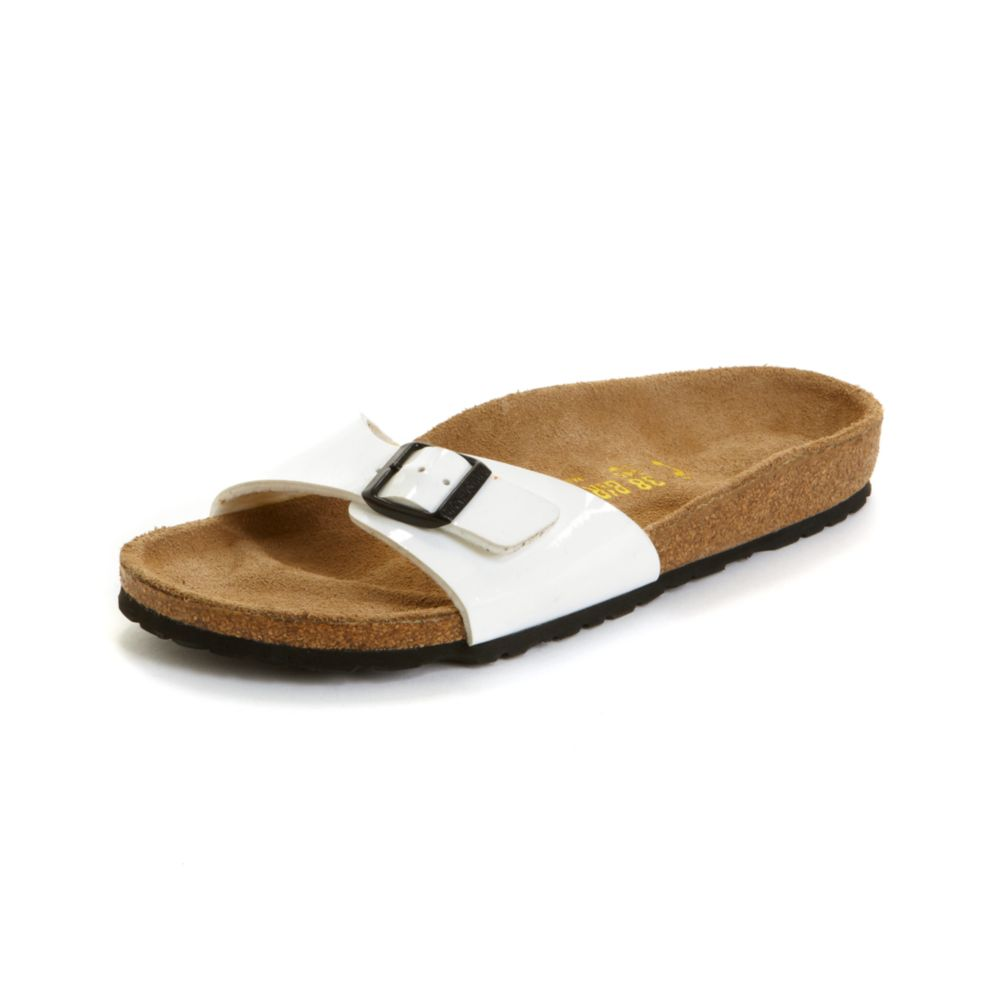 Birkenstock White In Madrid Lyst Sandals edoCxWrB