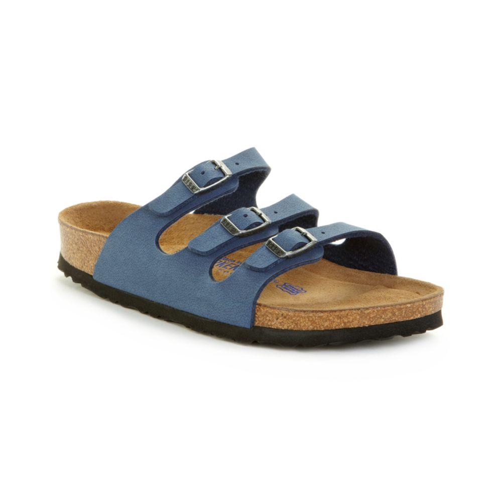 birkenstock florida sandals in blue peacoat lyst. Black Bedroom Furniture Sets. Home Design Ideas