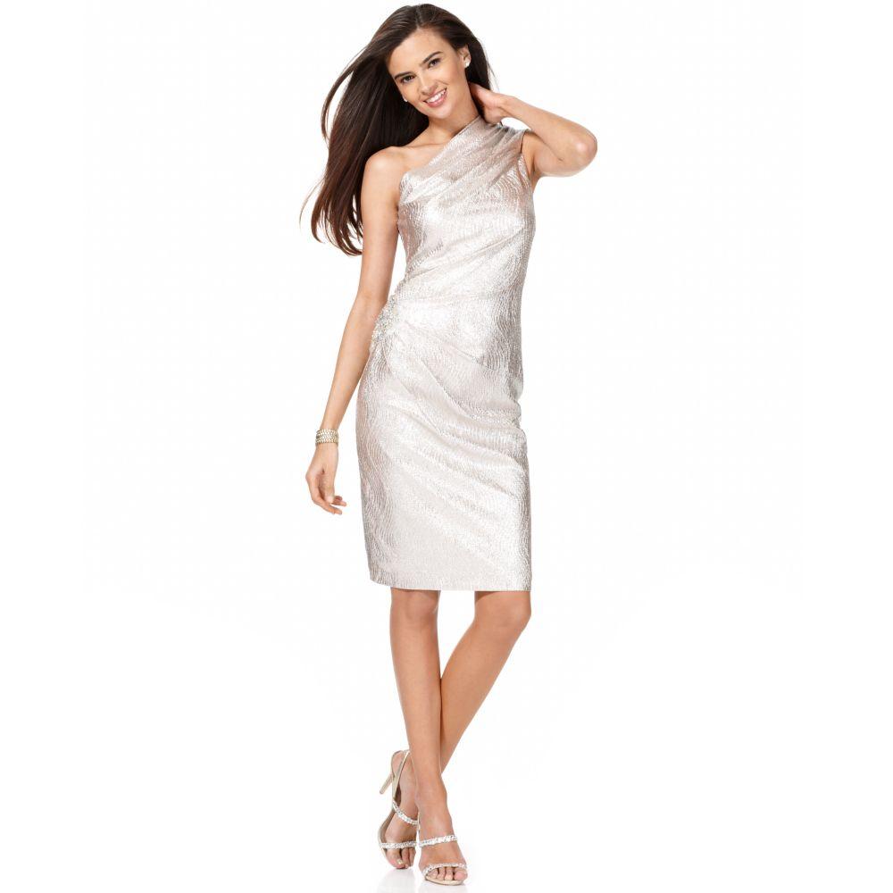 Eliza J One Shoulder Dress – Dresses for Woman