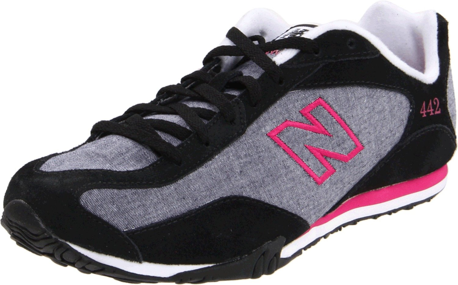 new balance new balance womens wl442 sneaker in black