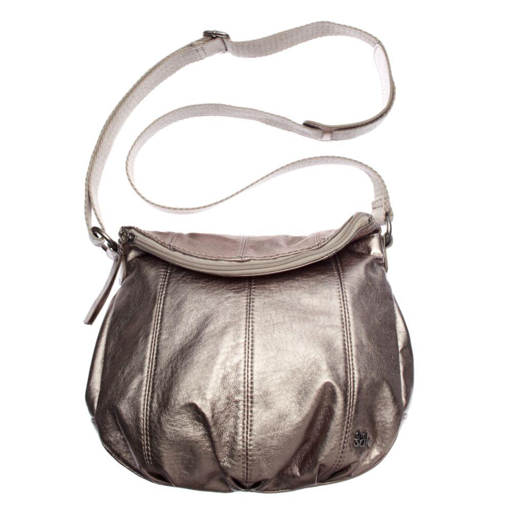 f9298e0455dc Lyst - The Sak Deena Flap Crossbody Bag in Metallic